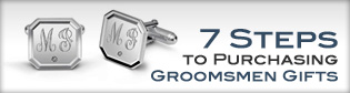 7 Steps to Purchasing Groomsmen Gifts