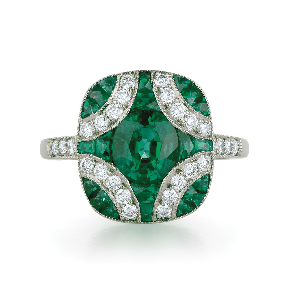 large argyle emerald ring kwiat vintage collection
