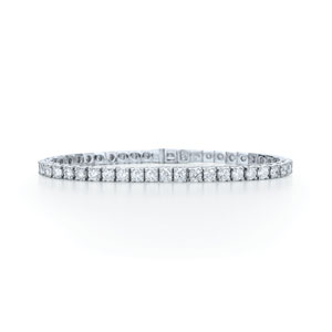 Round diamond line bracelet from the Riviera Collection