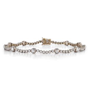Diamond line bracelet from the Kwiat Vintage Collection in 18K white gold