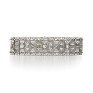 Lace diamond bracelet from the Kwiat Vintage Collection in 18K white gold